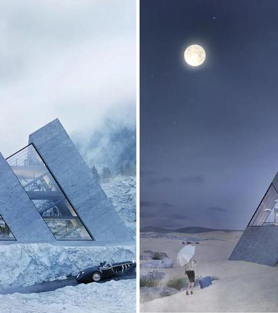 Designer cria casas idênticas aos logos de marcas famosas