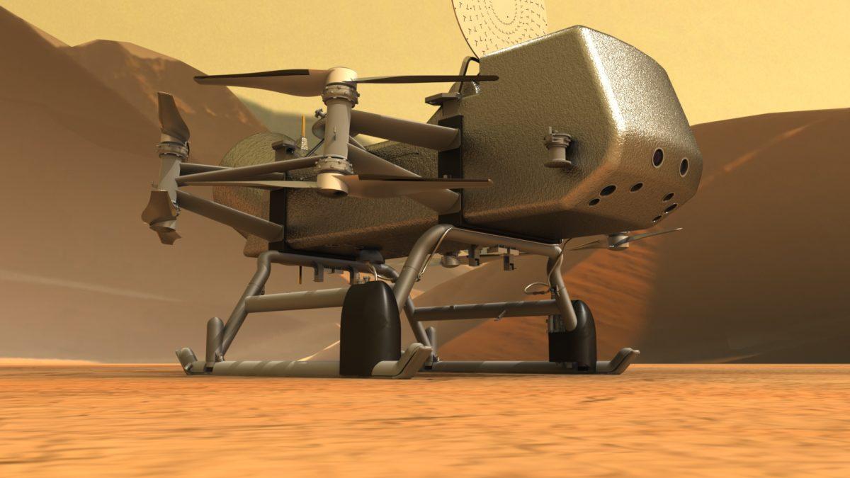 drone dragonfly Nasa
