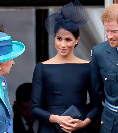 Rainha Elizabeth soube de saída Harry e Meghan da família pela TV e está 'furiosa'