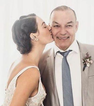 Isis Valverde escreve relato tocante ao pai morto vítima de infarto