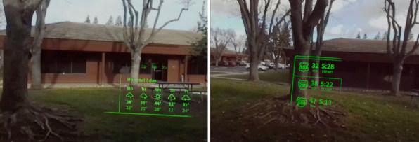 lente de contato realidade aumantada 3