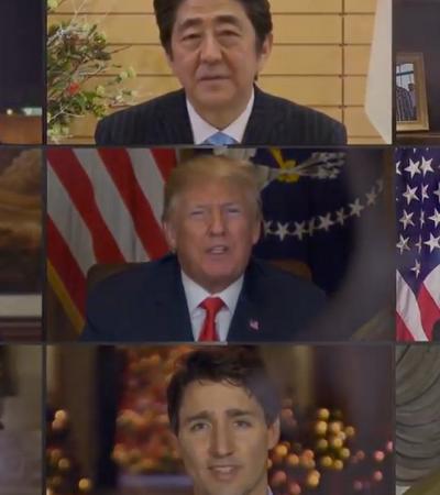 Líderes mundiais cantam 'Imagine' em vídeo criado por programa de IA
