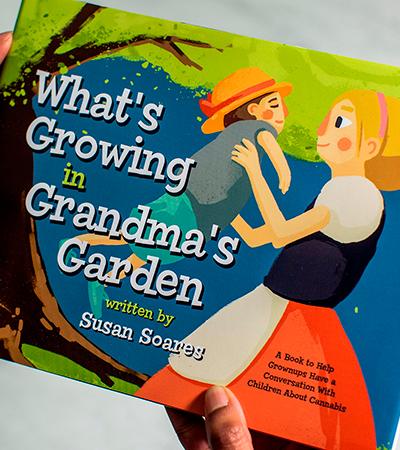 Autora explica publicação de livro sobre maconha para crianças