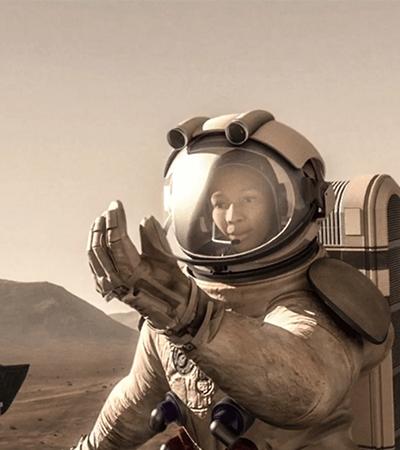 Nasa garante que uma mulher será o primeiro ser humano a pisar em Marte