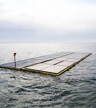 Holanda apresenta primeira usina de energia solar flutuante do planeta