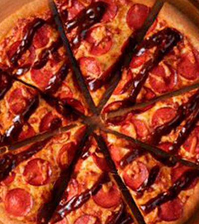 Pizza Hut troca molho de tomate por barbecue em nova linha