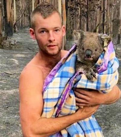 A história do jovem que salvou 9 coalas de incêndio sem precedentes na Austrália