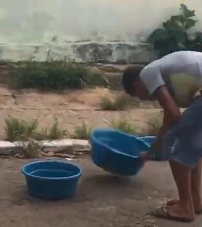 Vendedor de bacias choca ao mostrar qualidade do produto e viraliza