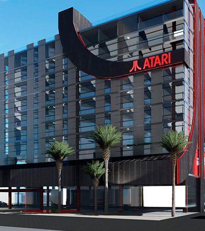 Atari vai lançar hotéis temáticos com formato do videogame clássico