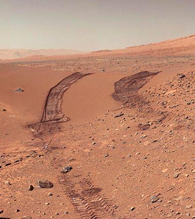 Estas são as melhores fotos de 7 anos de expedição da Nasa em Marte