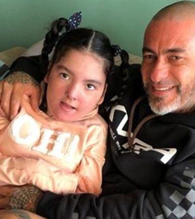 Fogaça se emociona com conquista da filha de 13 anos que tem epilepsia: 'Te amo'