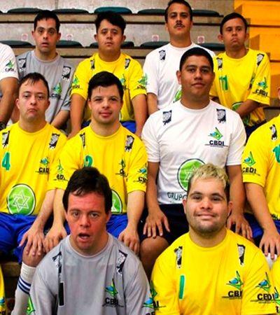Seleção down irá defender título em Campeonato Mundial de futsal na Turquia