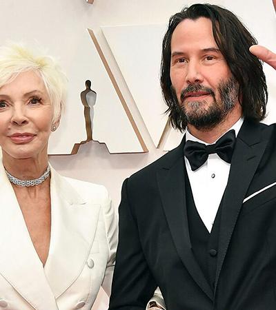 Keanu Reeves levou mãe ao 'Oscar' e roubou a cena