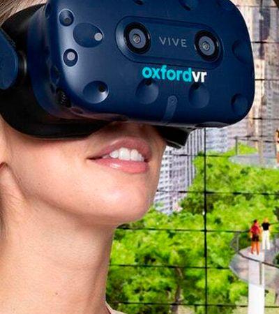 Empresa usaRealidade Virtual para tratar pânicos e fobias