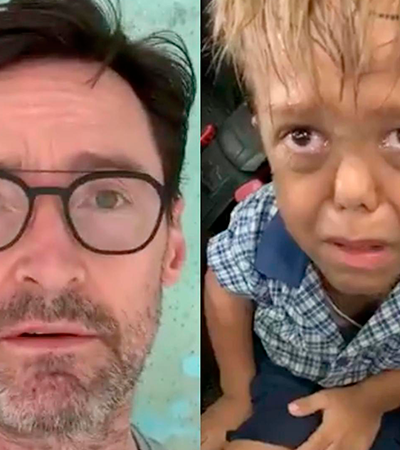 Hugh Jackman grava vídeo para menino com nanismo vítima de bullying