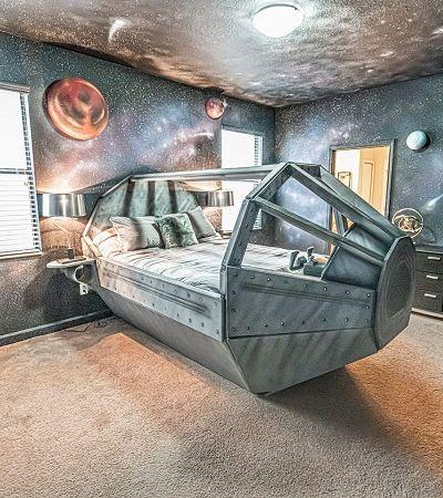O surreal AirBnb onde cada um dos 9 quartos homenageia um 'mundo' de Star Wars