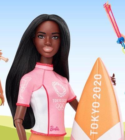 Barbie apresenta coleção inspirada nos Jogos Olímpicos