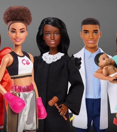 Barbie apresenta linha somente com bonecas negras e nós amamos