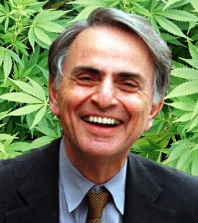 Carl Sagan escreveu ensaios chapado de maconha e dizia que a erva lhe dava 'inteligência e sabedoria'