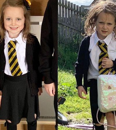 Não tá fácil pra ninguém: fotos hilárias de crianças 'antes e depois' da escola