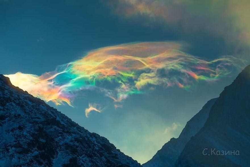 fenômeno nuvens multicoloridas 1
