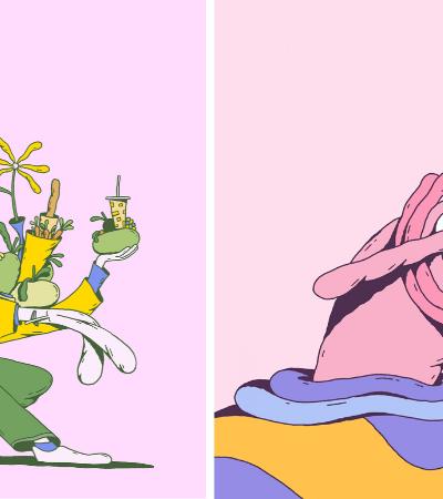 Ilustrador alemão cria gifs incríveis que nos fazem mergulhar em suas ilustrações