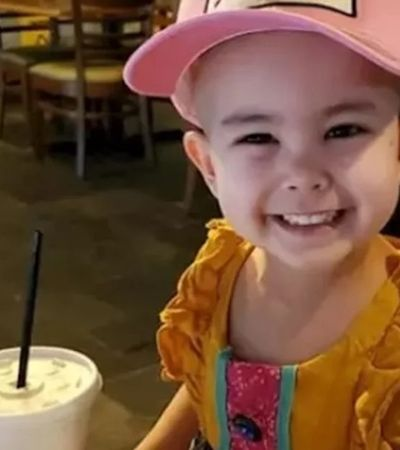 Restaurante abre fora de expediente para atender menina de 3 anos com leucemia