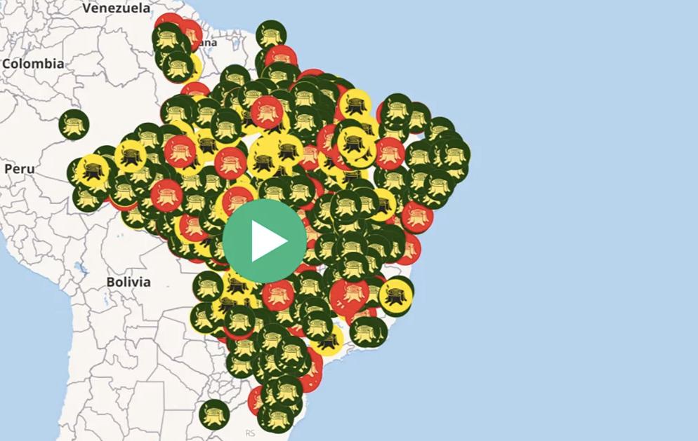 mapa desmatamento brasil 1
