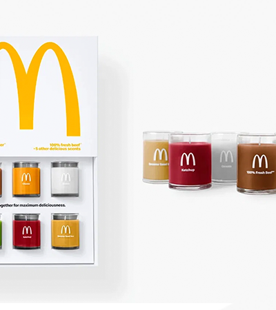McDonald's lança vela perfumada com ingredientes de hambúrguer