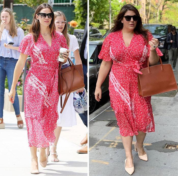 mulher se veste igual famosas 1