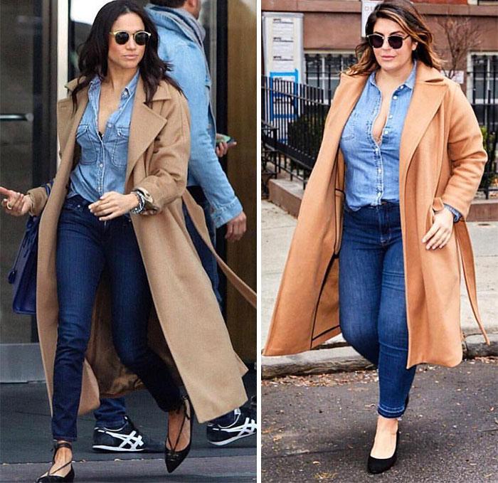 mulher se veste igual famosas 2