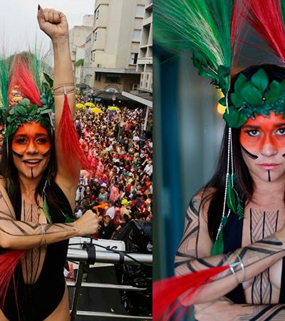 Por que mesmo apoiando luta, Alessandra Negrini não deveria se 'vestir' de índia no Carnaval