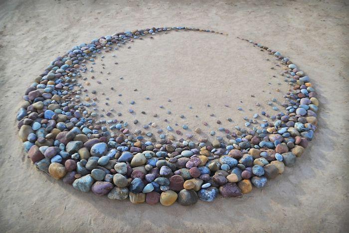 padrões pedras na praia 3