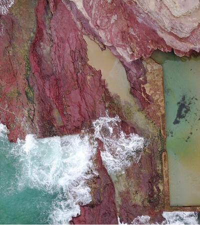 Na Austrália, piscinas públicas naturais são construídas em meio à formações rochosas