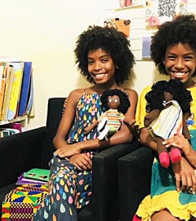 'Pretinhas leitoras': irmãs criam projeto de incentivo à leitura em áreas violentas
