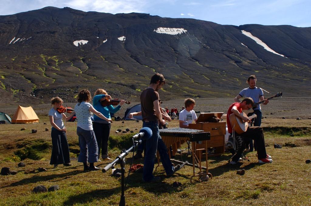 sigur ros na islândia