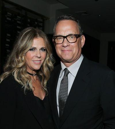 Com coronavírus, esposa de Tom Hanks faz playlist para quarentena