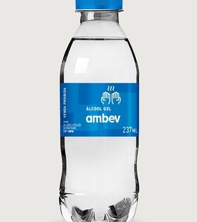 Coronavírus: Ambev vai produzir álcool gel e doar aos hospitais públicos