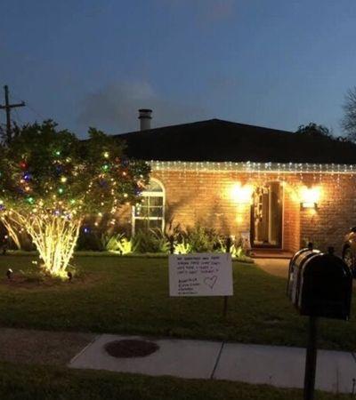 Coronavírus: luzes de Natal voltam às casas em corrente de esperança; veja fotos