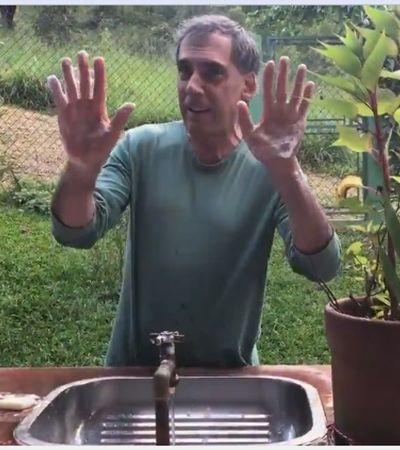 Arnaldo Antunes invoca 'Castelo Rá-Tim-Bum' pra você lavar as mãos