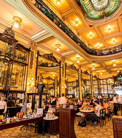 Confeitaria Colombo: um dos cafés mais lindos mundo fica no Brasil
