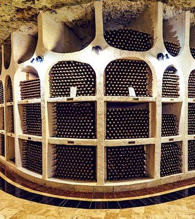 Conheça a incrível adega subterrânea com mais de 1,3 milhão de garrafas na Moldávia