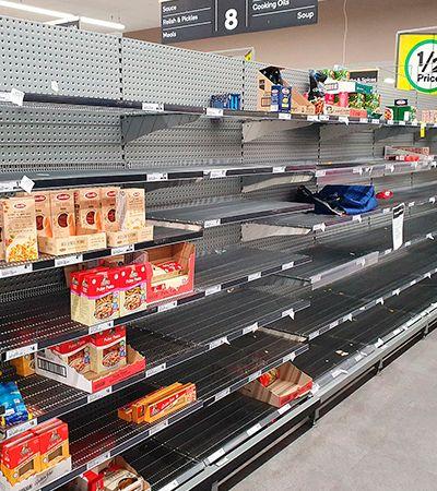 Porque da importância de não exagerar na compra de alimentos, medicamentos e máscaras em tempos de coronavírus