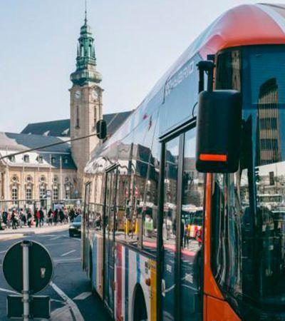 Luxemburgo faz história e realiza sonho do transporte público gratuito