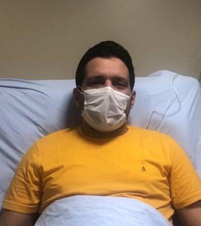 Coronavírus: fora da UTI, apresentador do 'JN' disse ter contraído vírus em SP