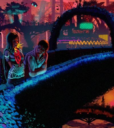 Amazofuturismo imagina um futuro indígena e cyberpunk