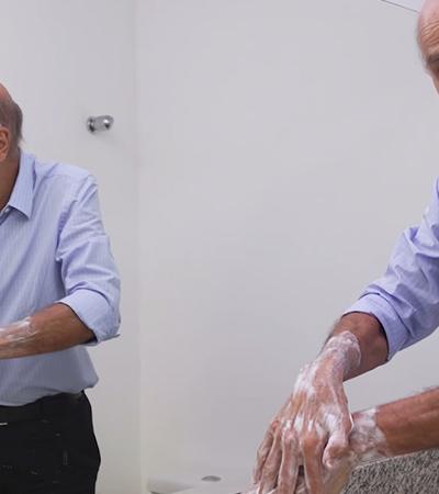 Coronavírus: Drauzio Varella exercita cidadania e ensina o jeito certo de lavar as mãos