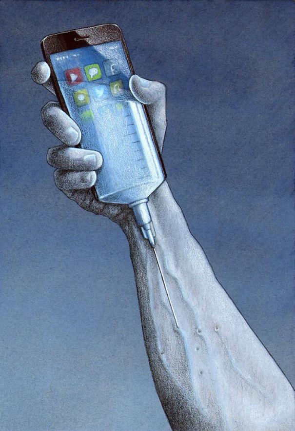 ilustrações críticas sociedade 2