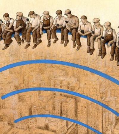 Novas ilustrações do artista Pawel Kuczynski botam o dedo nas feridas da sociedade atual