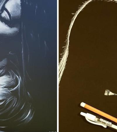 Isto não é uma fotografia: artista usa carvão e desafia nossa percepção